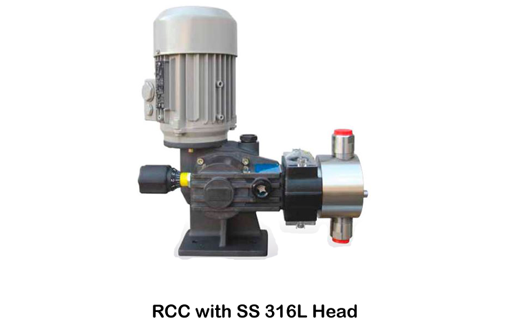 RCC with SS 316L Head